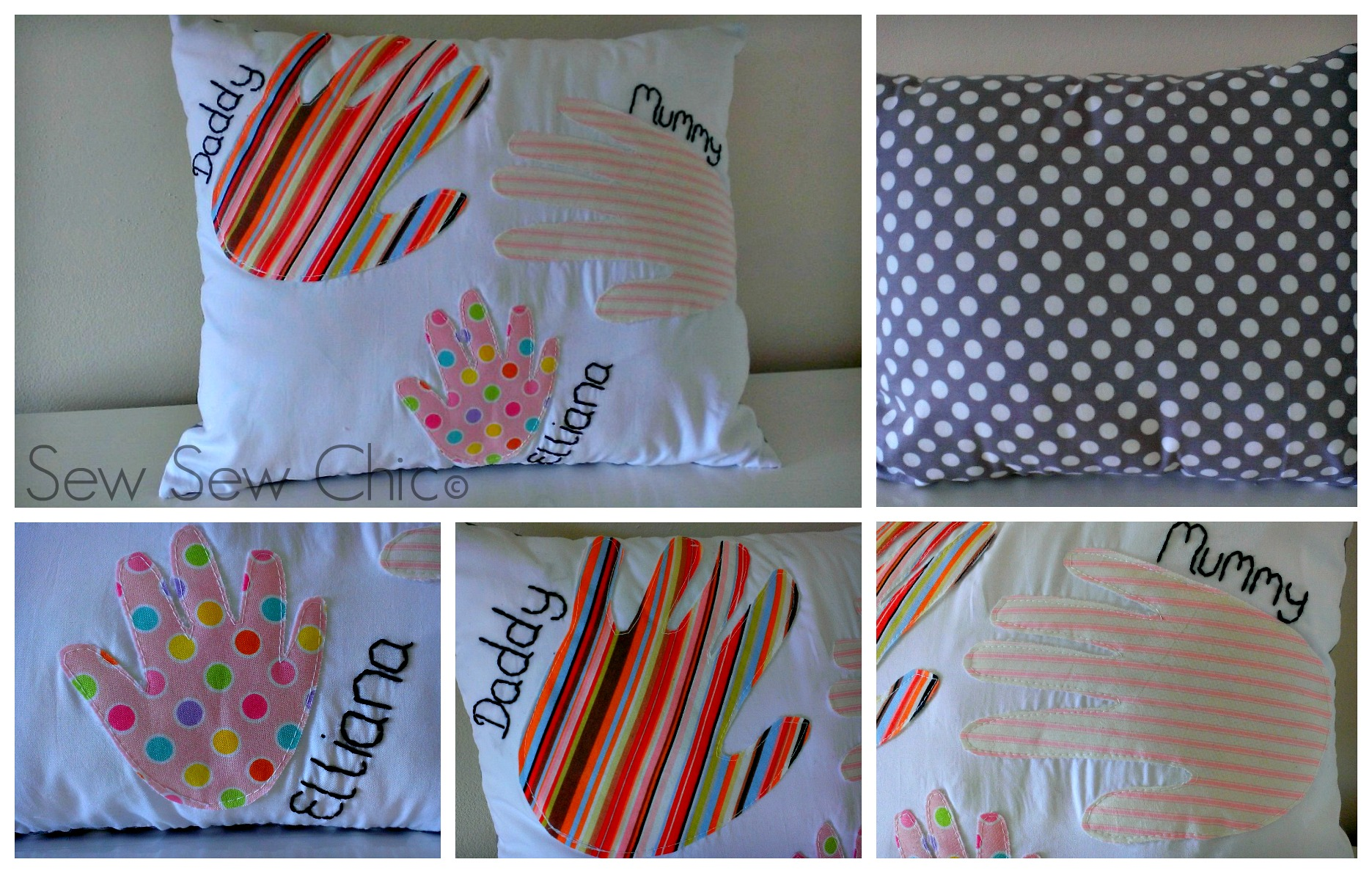 Hands Cushion