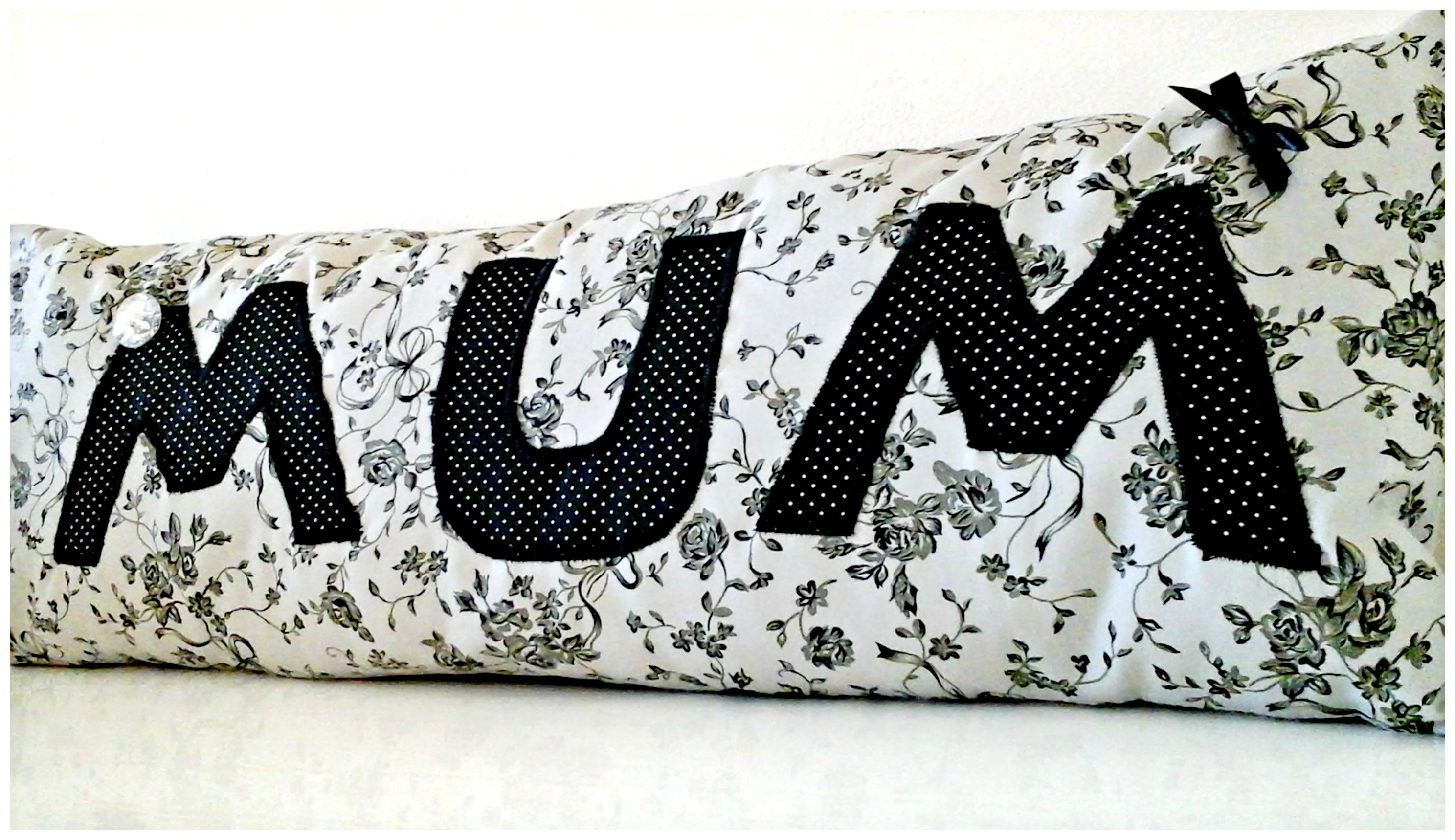 Personalised MUM cushion