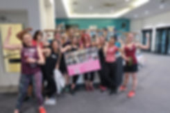 group personal training ladies