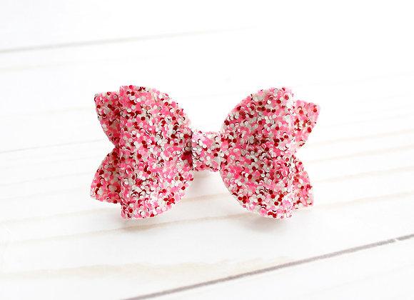 Valentine's Day Glitter Bow