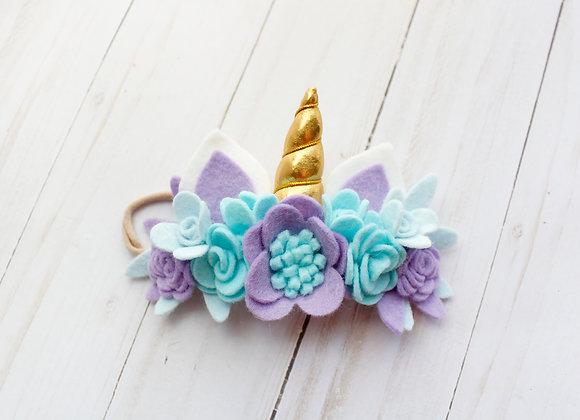 Purple Unicorn Headband