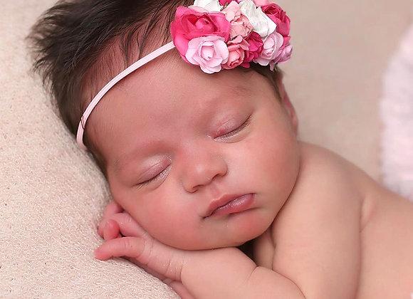 Pretty in Pink Flower Headband