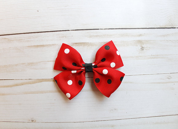 Minnie Mouse Red Hair Bow