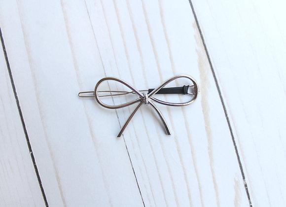 Metal Hair Bow Clip