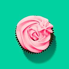 Grain-Free Strawberry Cupcakes