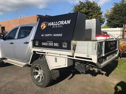 Halloran Diesel Ute Signage