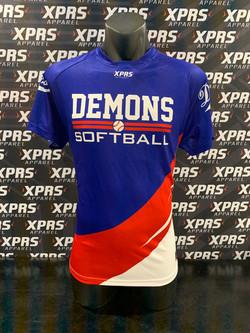Demons Softball Tee's