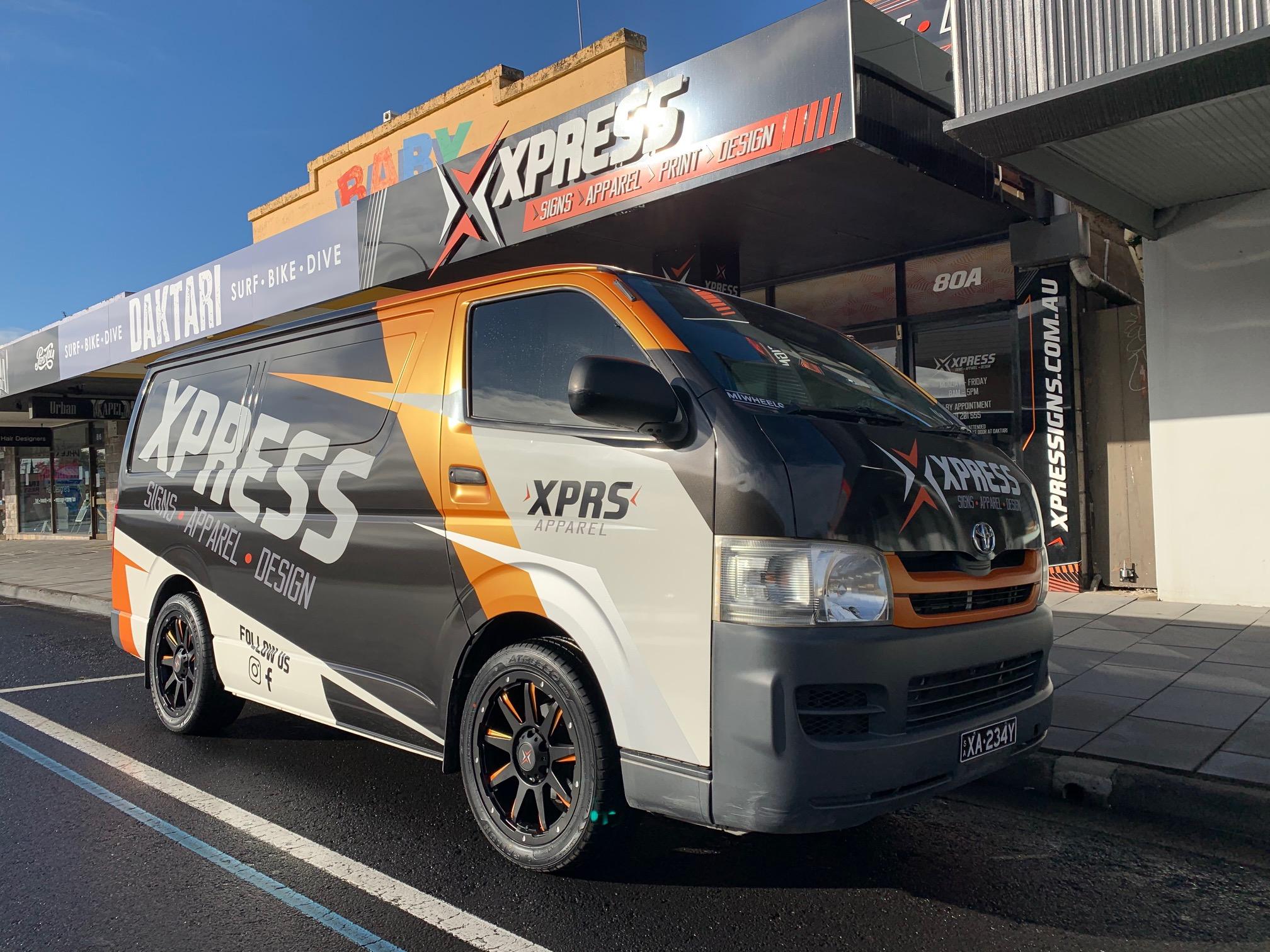 Xpress Signs Van Signage