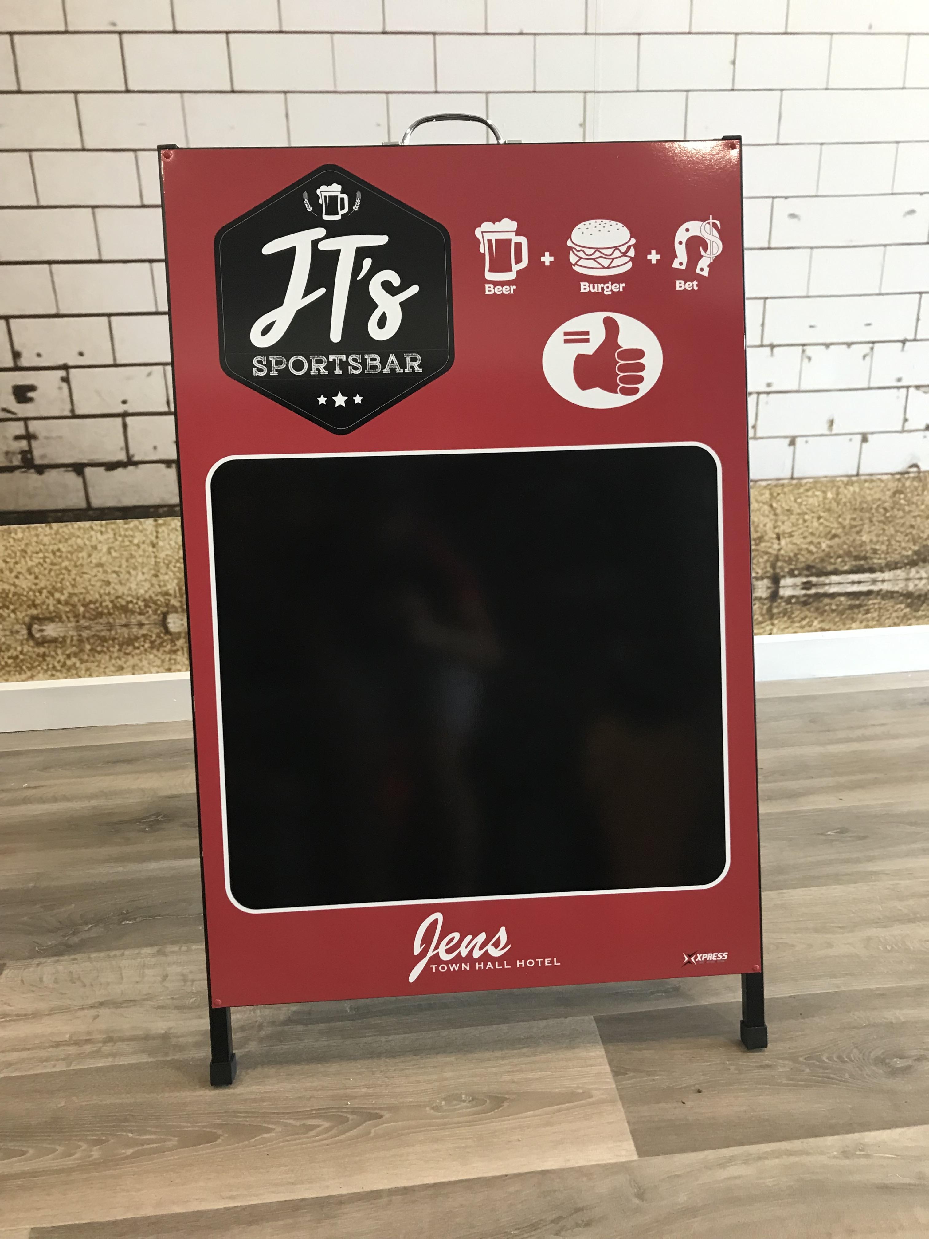 JT's Sportsbar A-Frame
