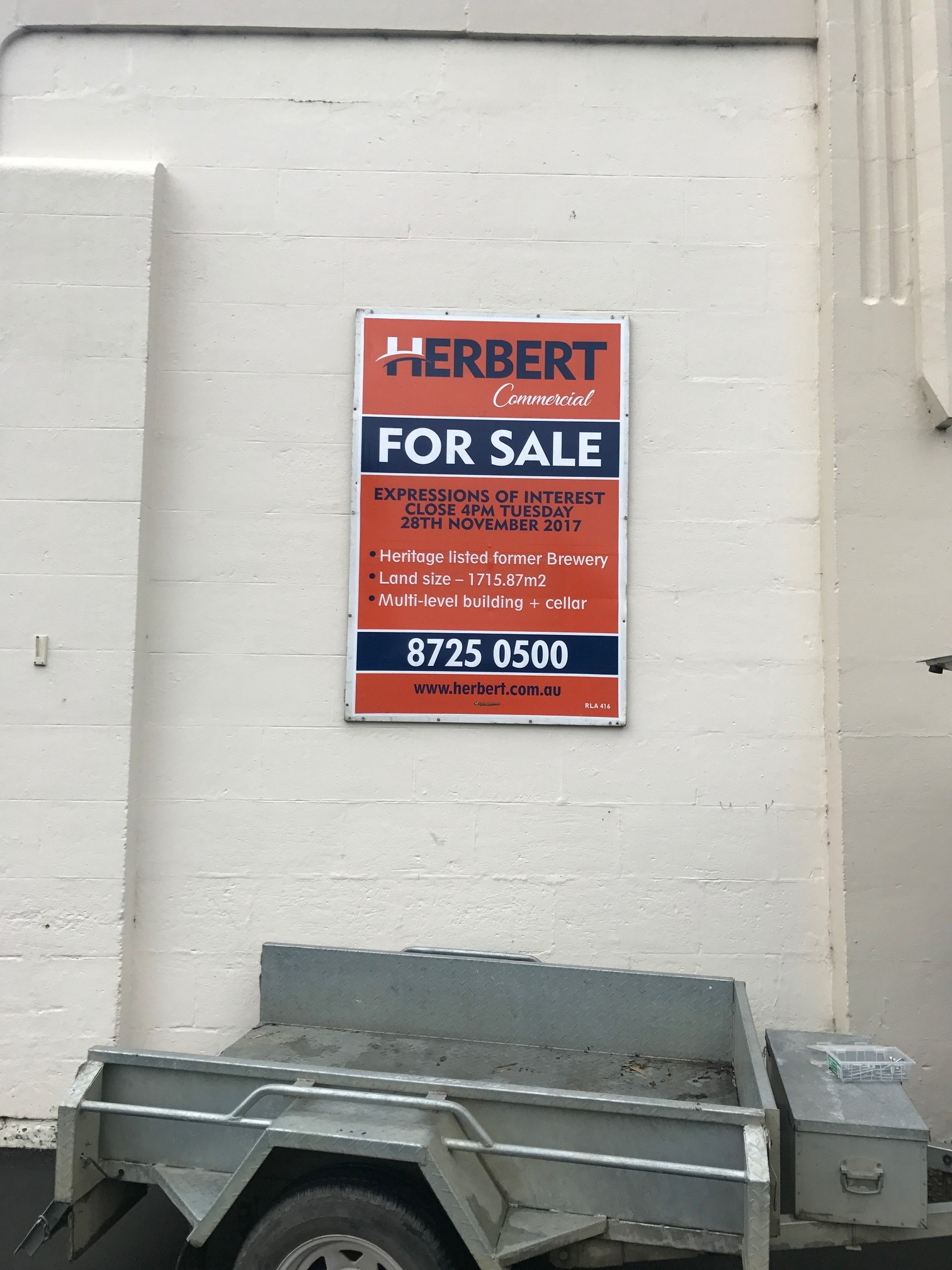 Herbert Commercial For Sale Sign