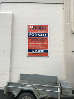 Herbert Commercial For Sale Sign