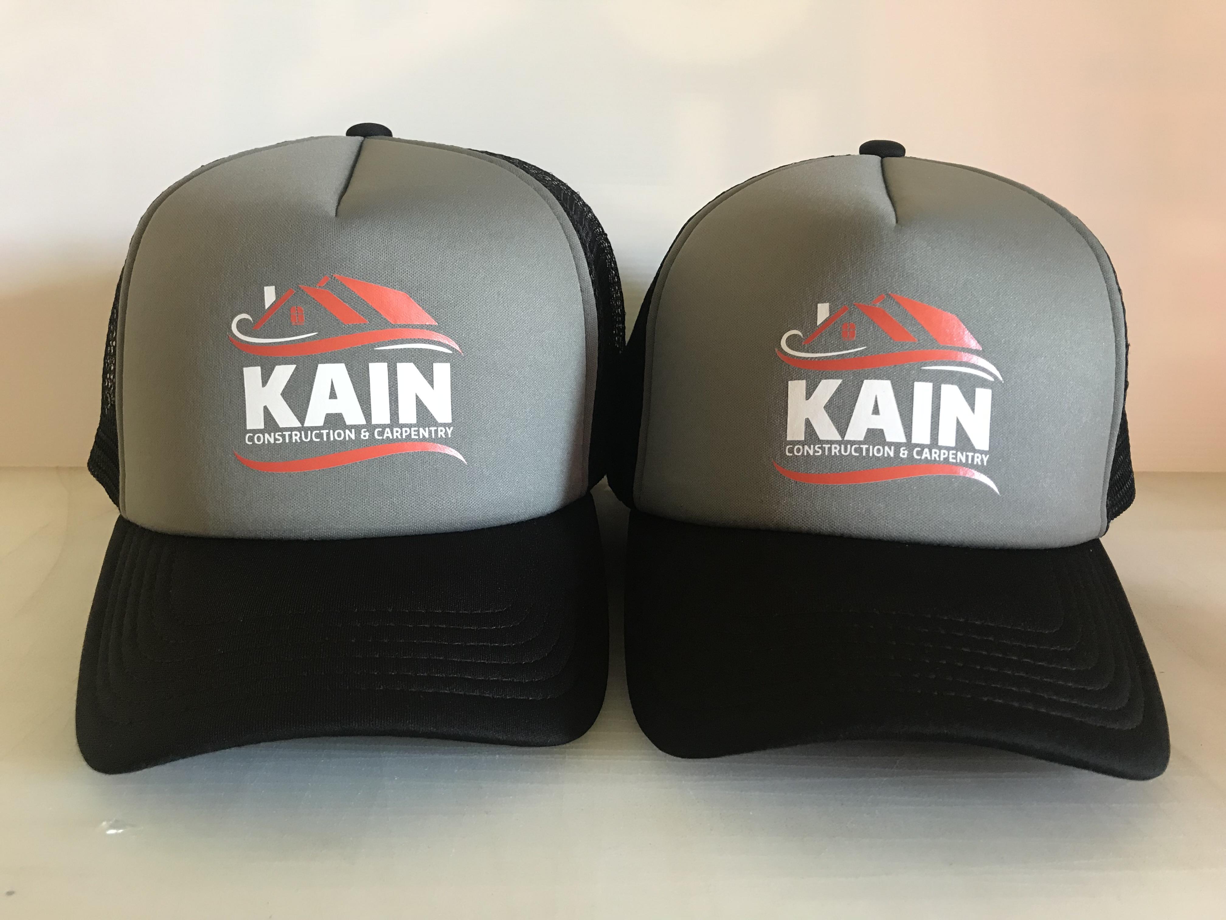 Kain Consttuction Caps