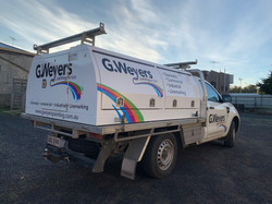 G.Weyers Painting Services Ute Signage