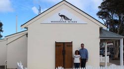 Woodsoak Wines Signage
