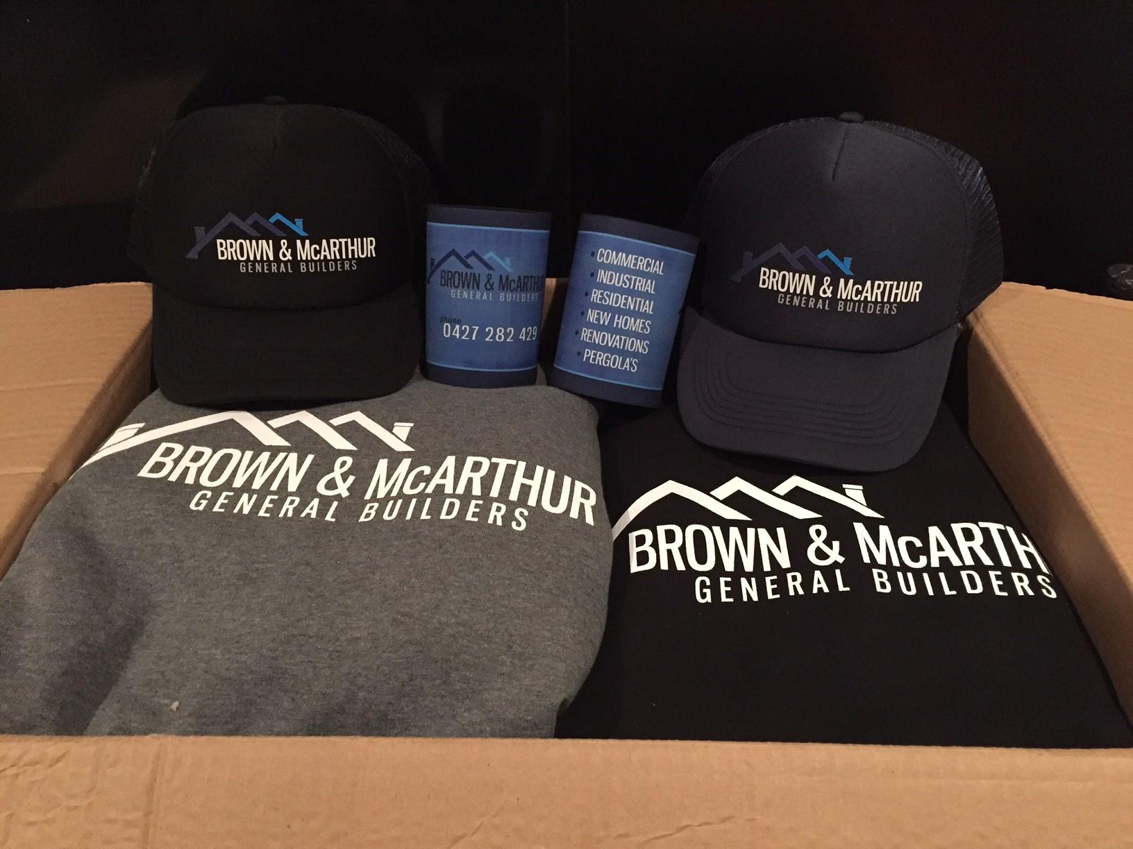 Brown & McArther Hoodies