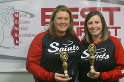 Saints Netball Warm Up Tee's