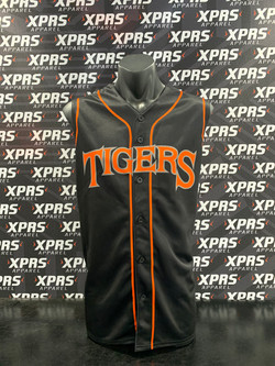 Tigers Baseball Uniforms