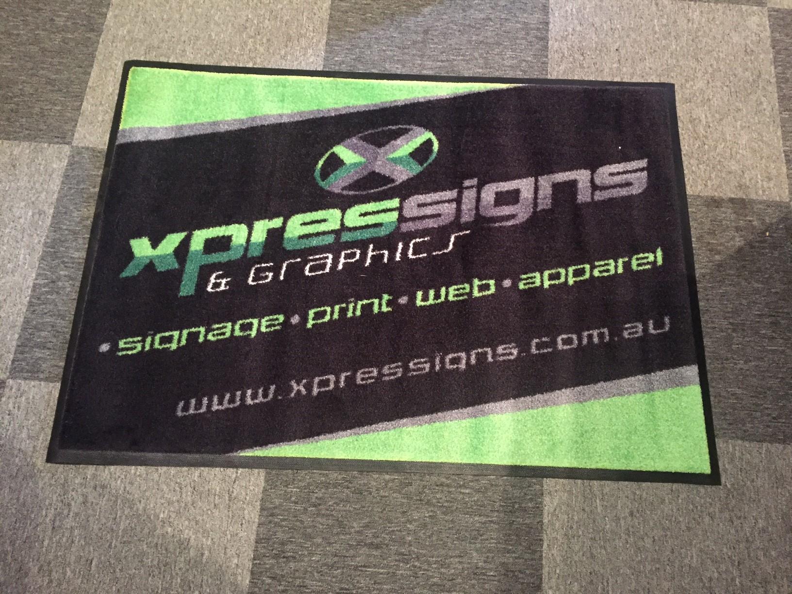 Xpressigns Entrance Mat
