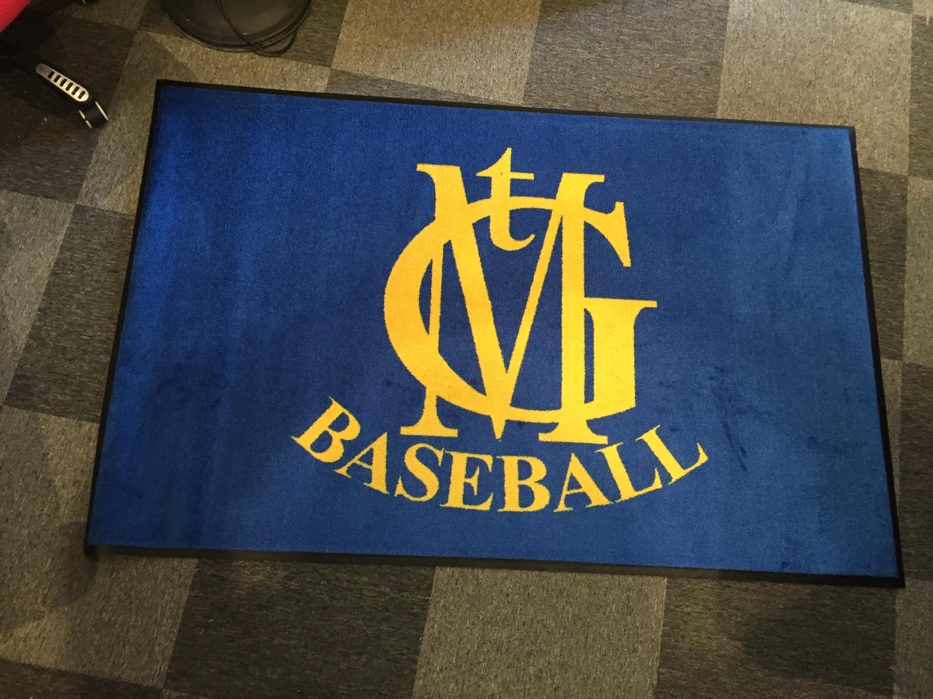 MTG Baseball Entrance Mat