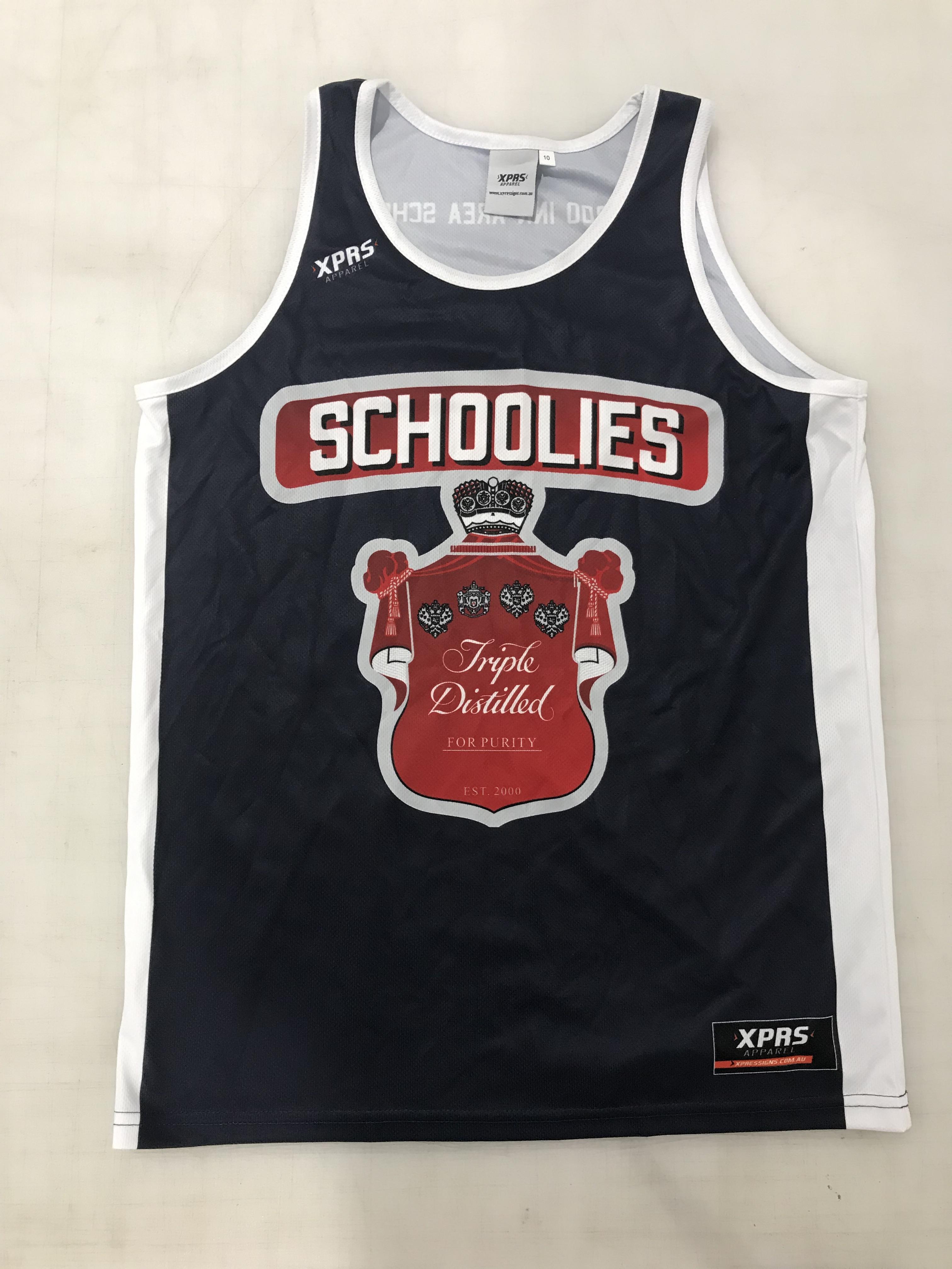 Schoolies Singlets