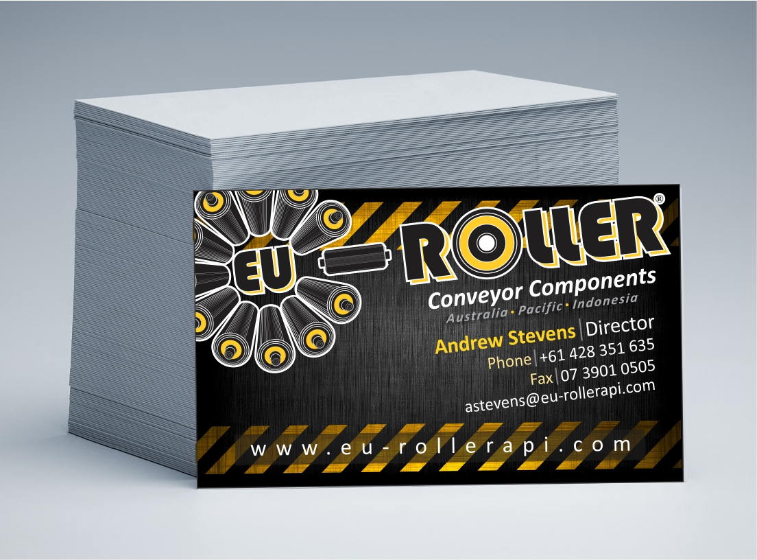 EU Roller Business Cards