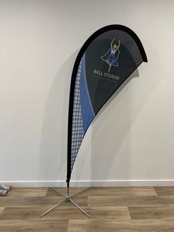Bell Studio Tear Drop Flag