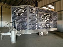 25 Acres Food Truck Signage