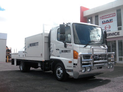 Merrett Logging Hino Truck