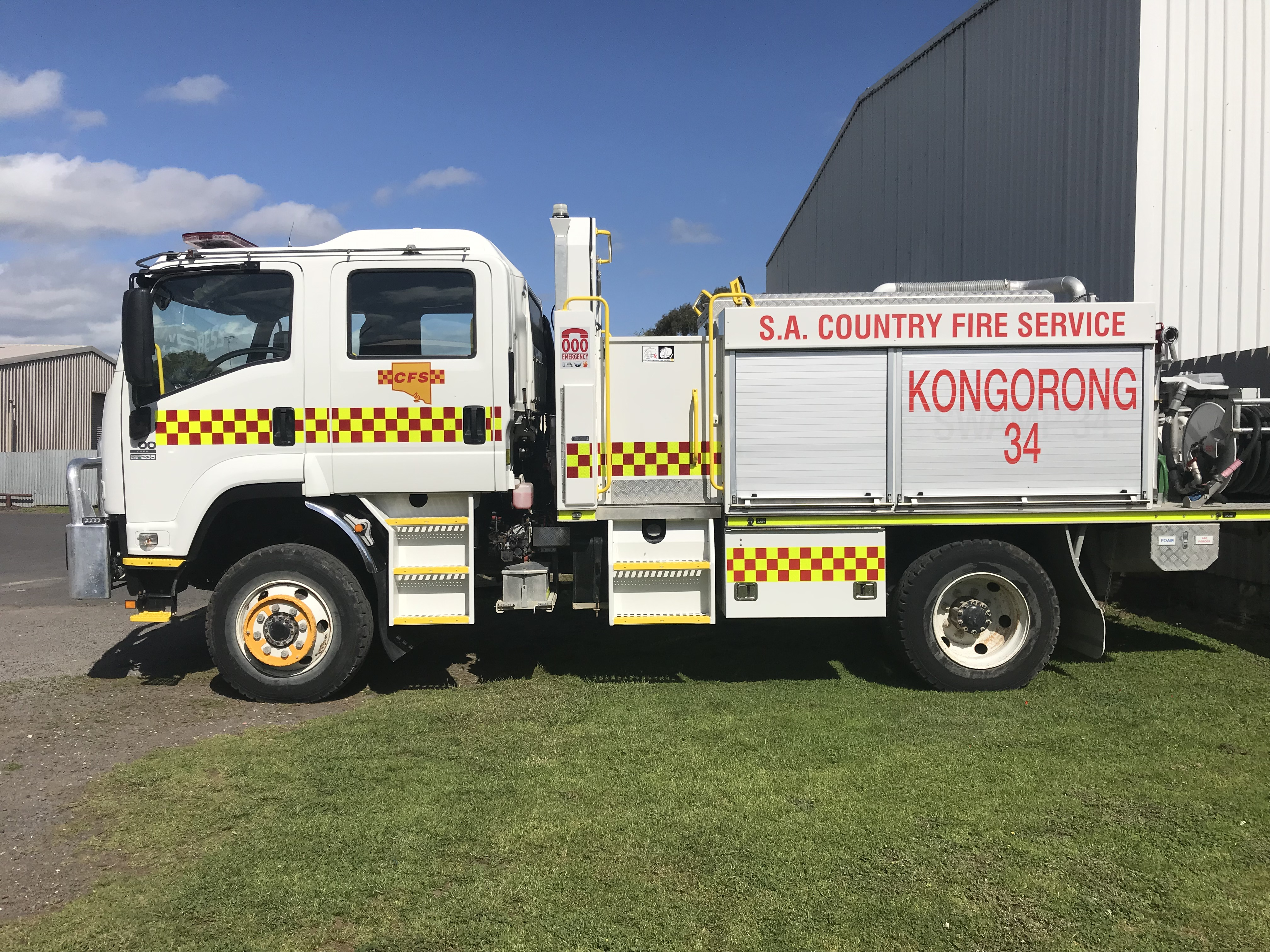 CFS Fire Truck Signage