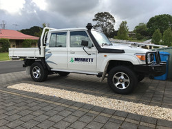 Merrett Logging Dual Cab Ute