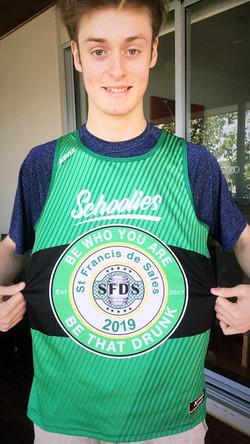 St Francis de Sales Schoolies Singlets