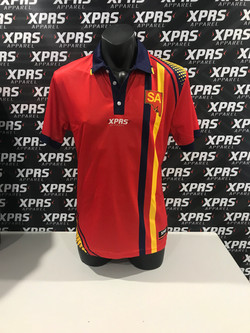 SA Netball Red Army Polo's
