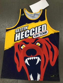 Hectorville Hounds Football Trip Singlets