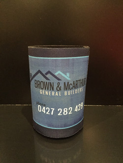 Brown & McArthur General Builders Stubby Holders