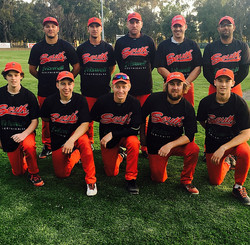 South Baseball Warmup Tops