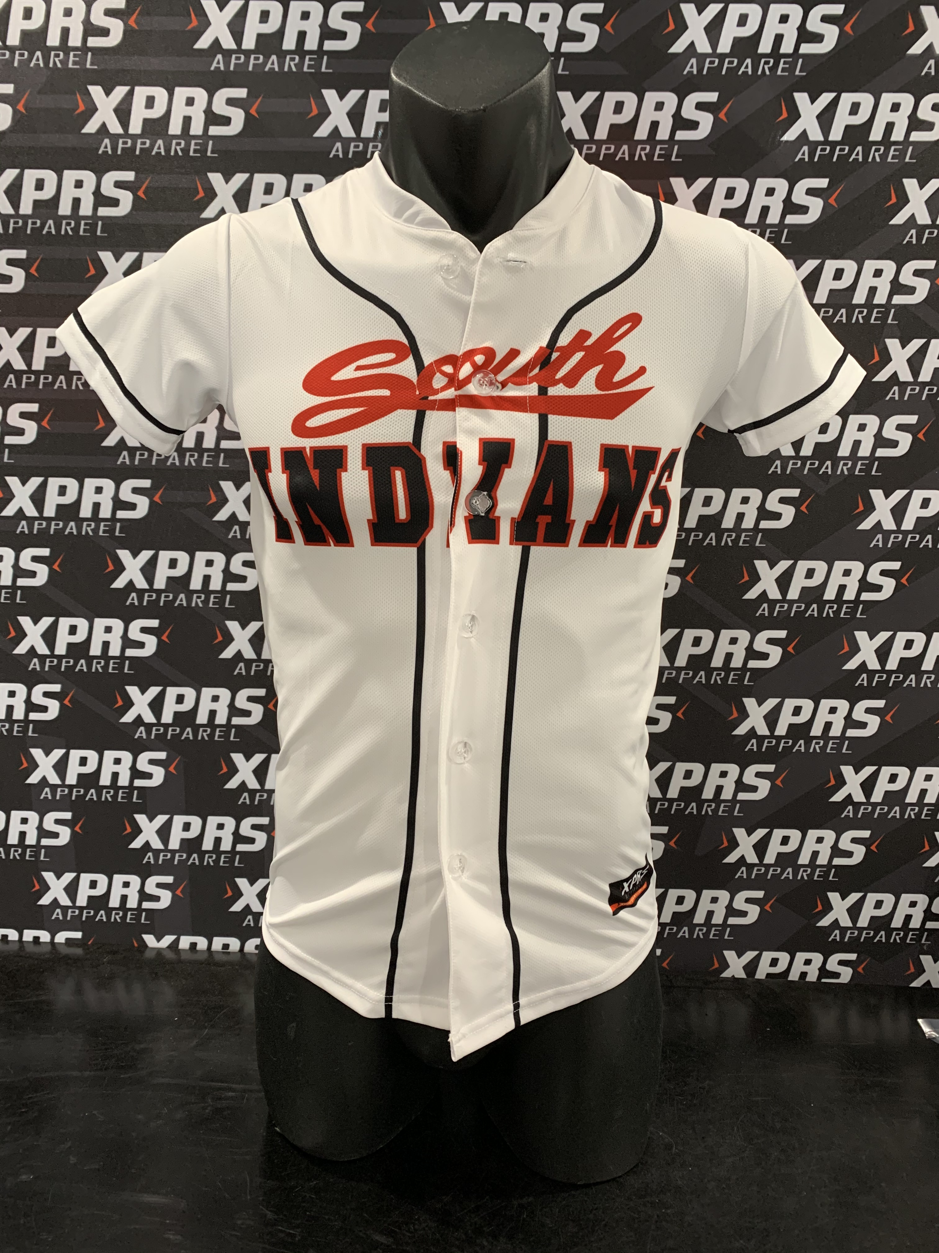 South Indians Baseball Uniforms