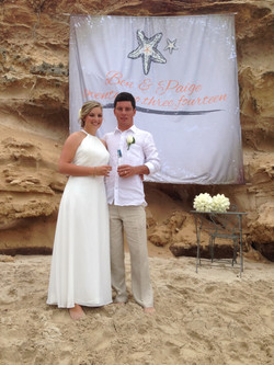 Paige & Ben Wedding Banner