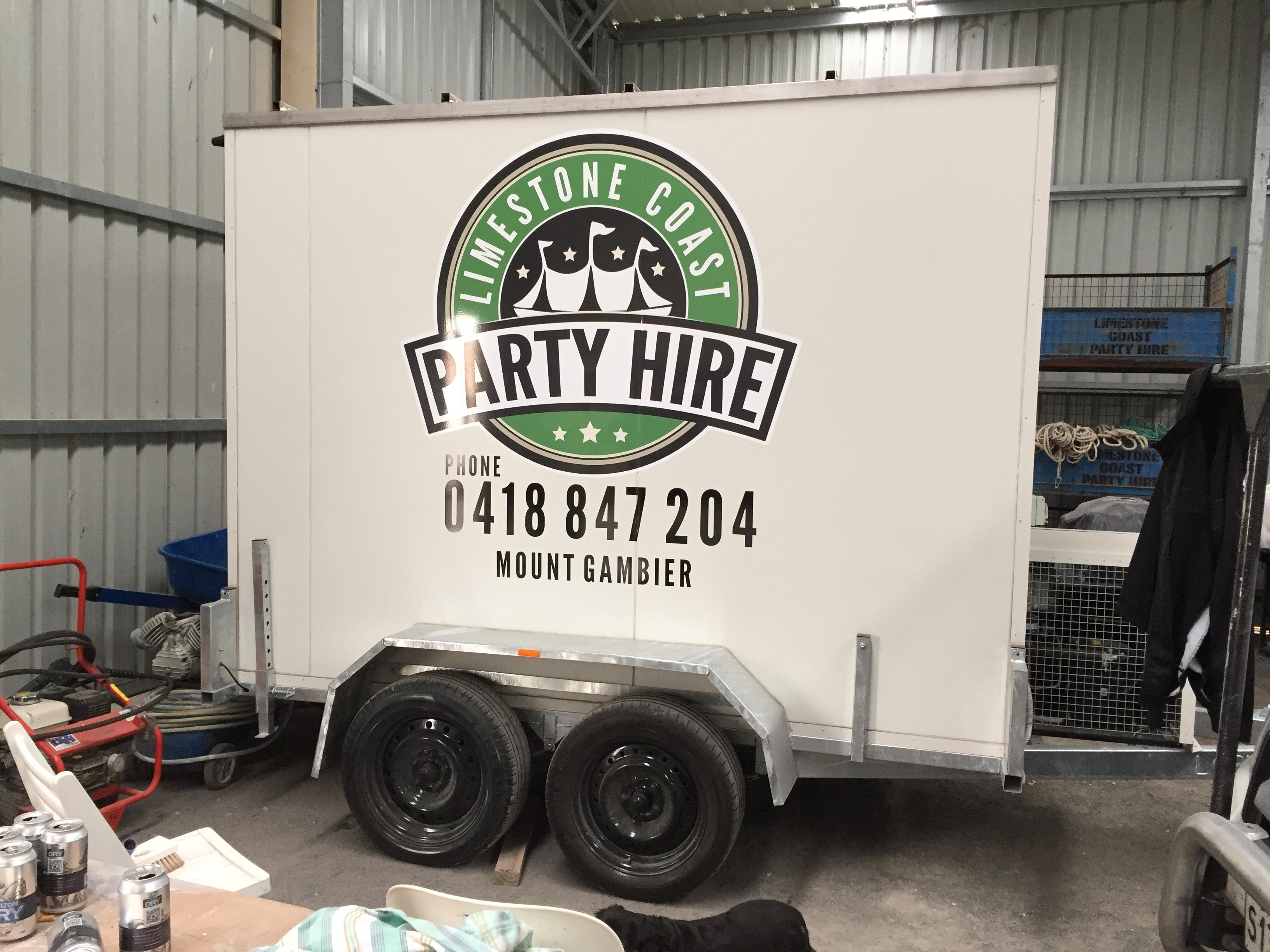 Limestone Coast Party Hire Truck