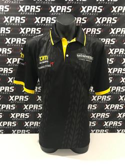 MT Wheels Polo Shirts