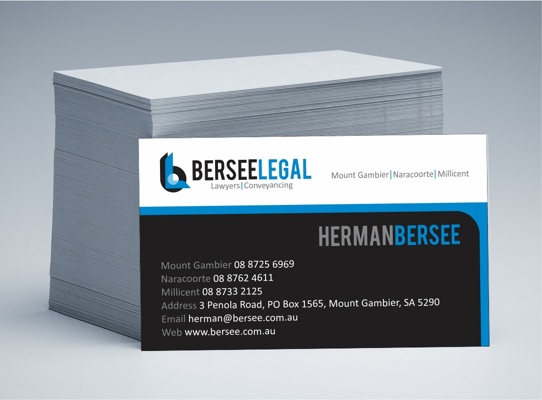 Bersee Legal Business Cards