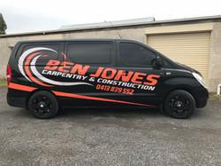 Ben Jones Carpentry & Construction Van S