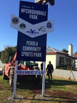 Penola Community Complex Pylon Sign
