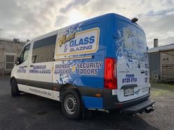 Mount Glass & Glazing Van Wrap