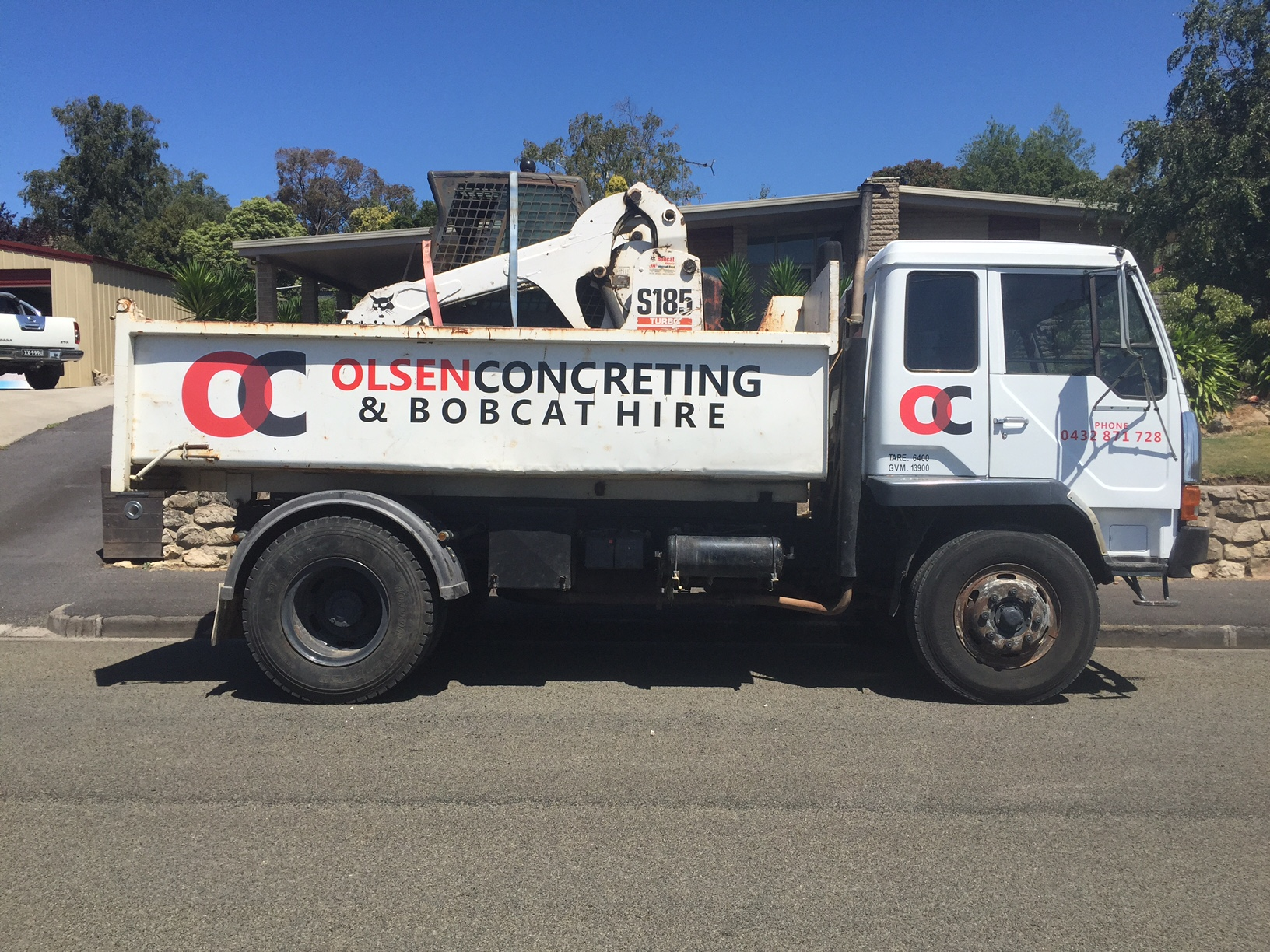 Olsen Concreting Truck Signage