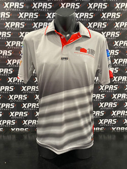 3MP Polo's with Ventilation Patches