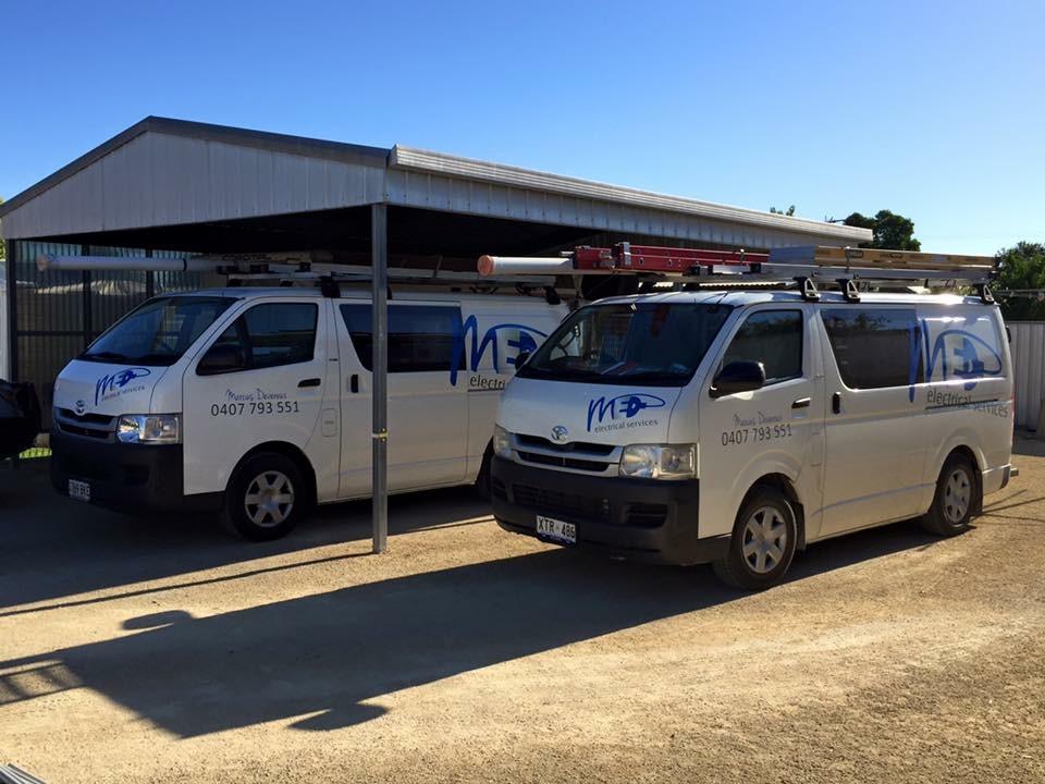 MED Electrical Vans
