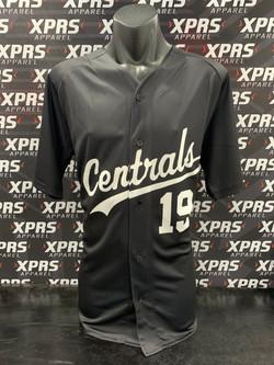 Centrals Baseball Uniforms