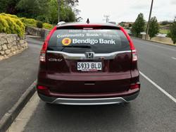 Bendigo Bank Vehicle Signage