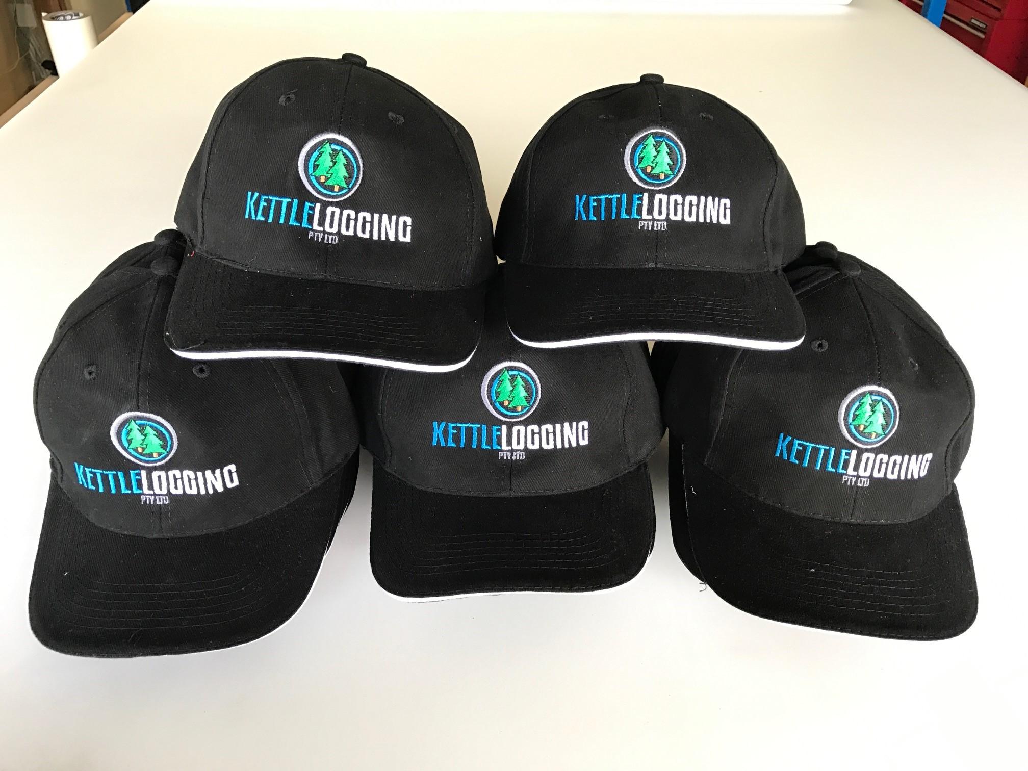 Kettle Logging Caps