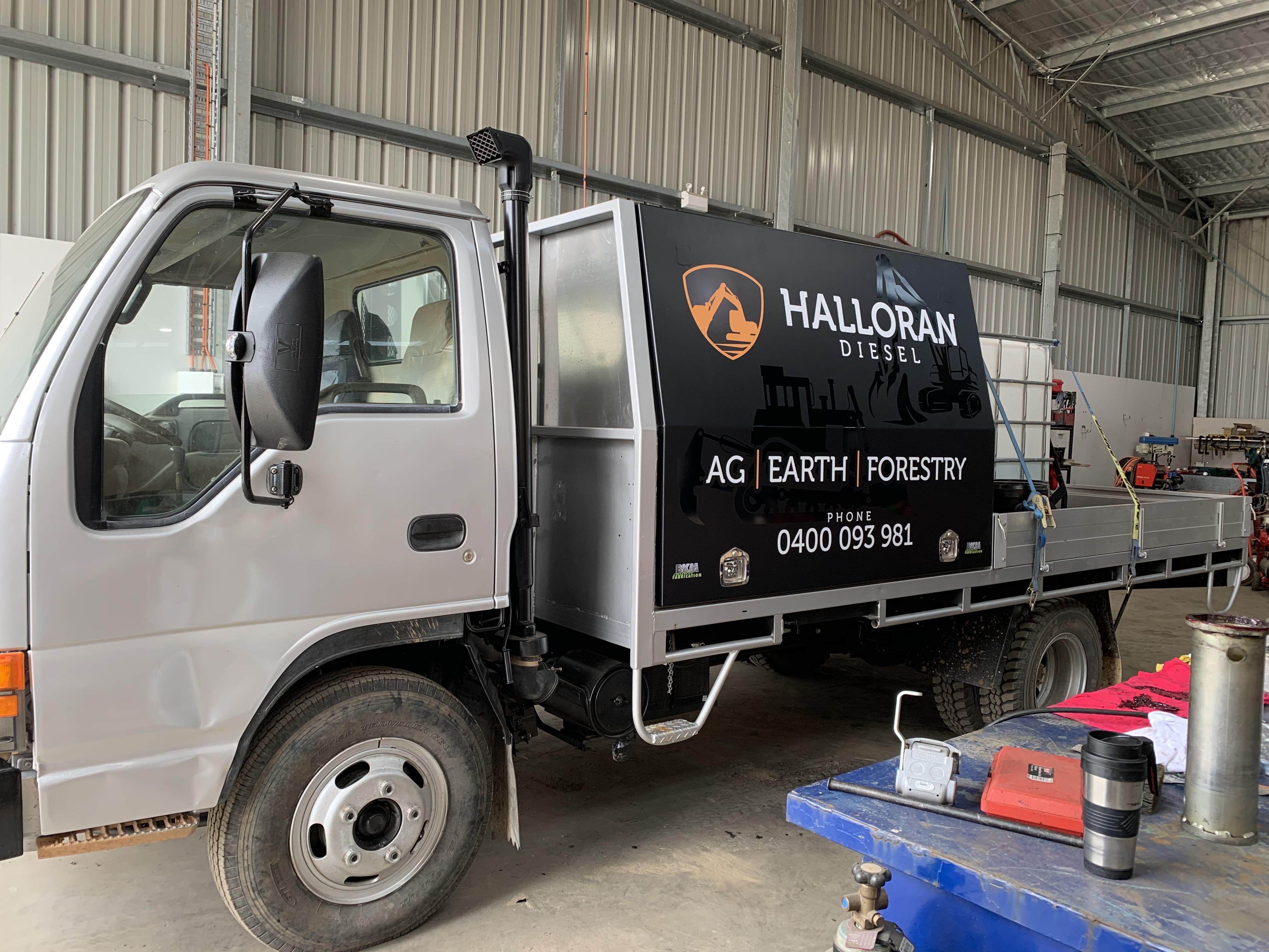 Halloran Diesel Toolboxes
